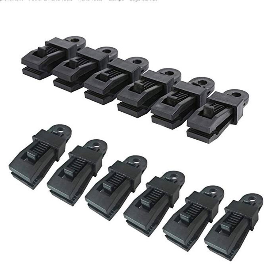 12pcs Heavy Duty Tarp Clips Clamps for Outdoor Camping Tent Canopy