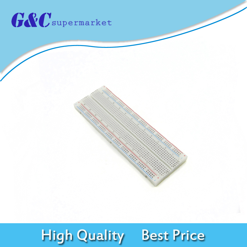 2PCS Solderless PCB Bread Board SYB-46 Test Develop  Breadboard 270 Points