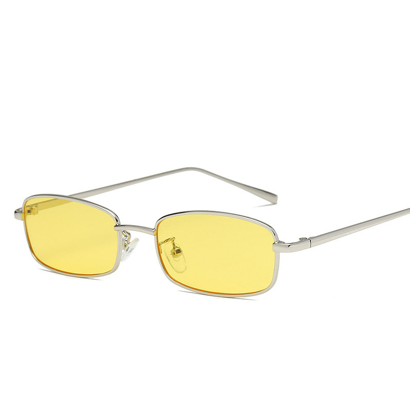 79a3a67685 AMII 2018 Small Narrow Rectangle Sunglasses Women Men Brand Red Clear Lens  Skinny Slim Wire Retro Sun Glasses Shades-in Sunglasses from Apparel  Accessories ...