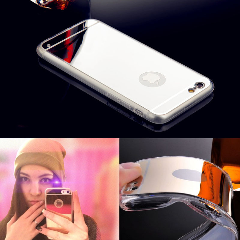Buy for iphone 5 5s se luxury mirror for Coque iphone 5 miroir