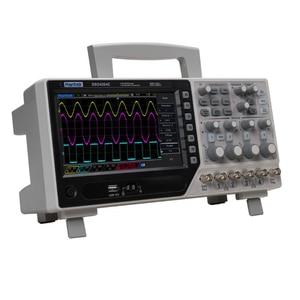 Image 3 - Hantek DSO4254C عاكس ذبذبات تخزين رقمي 4CH 250Mhz 1Gs/s مؤشر الذبذبات 25MHz وظيفة/مولد إشارة التعسفي