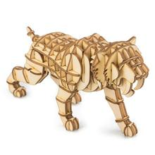 3D Wooden Puzzle Animals