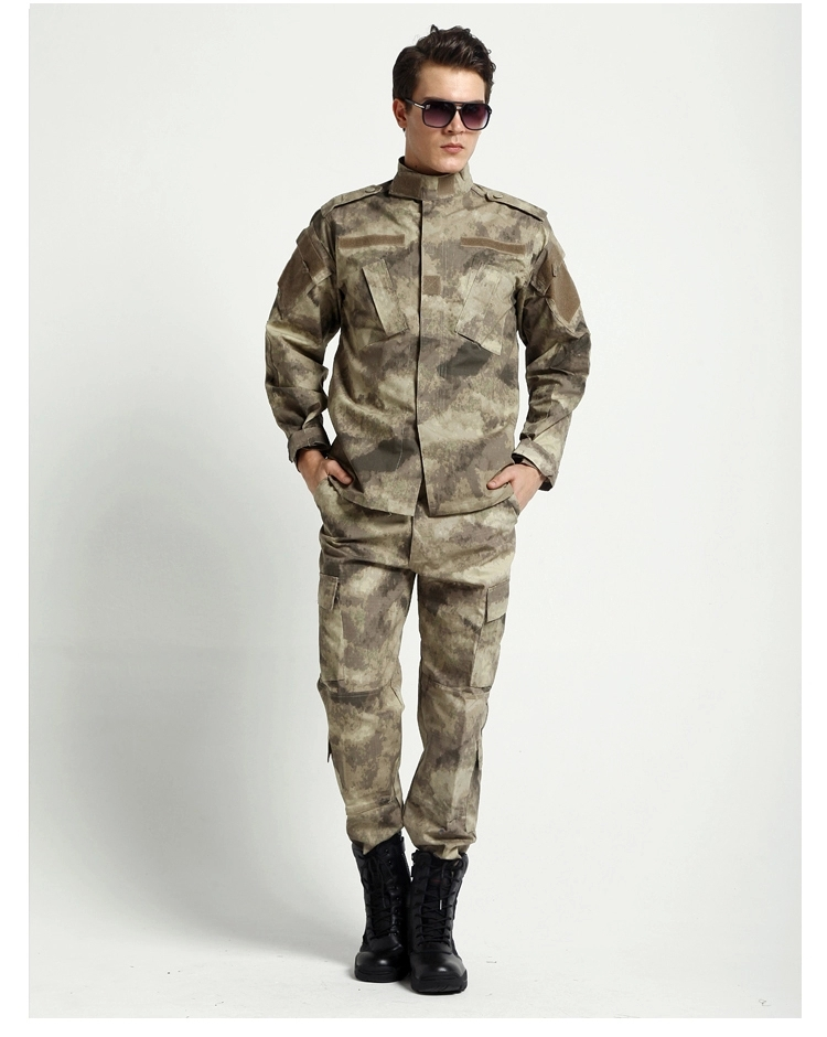 Us Army Military Uniform For Men A TACS Military Uniform Live Field Cs Uniform Training Uniform Jacket And Pants XS-XXL