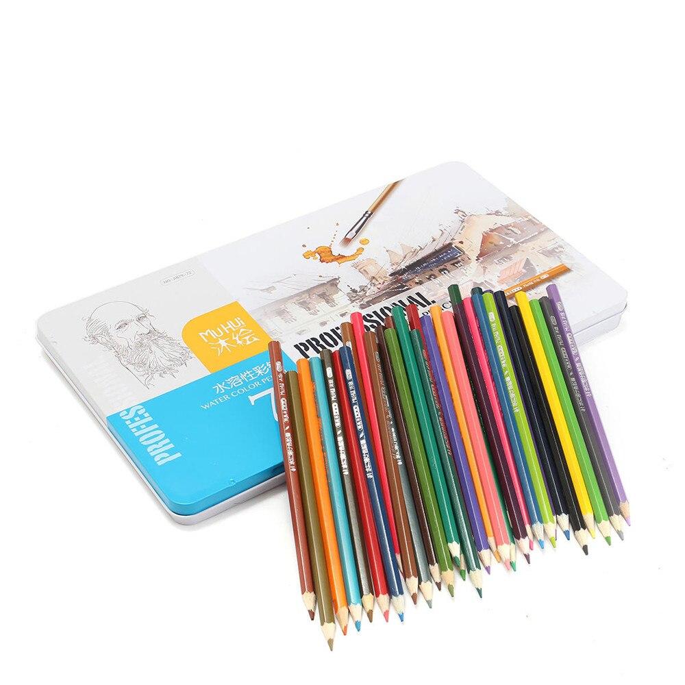 Lápis de Cor Suprimentos Premium Soft Core 72