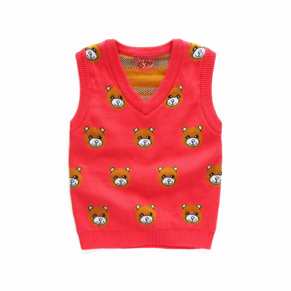 Clearance Sales Boys Vest Kids sweater vest cheap cardigan knitted ...