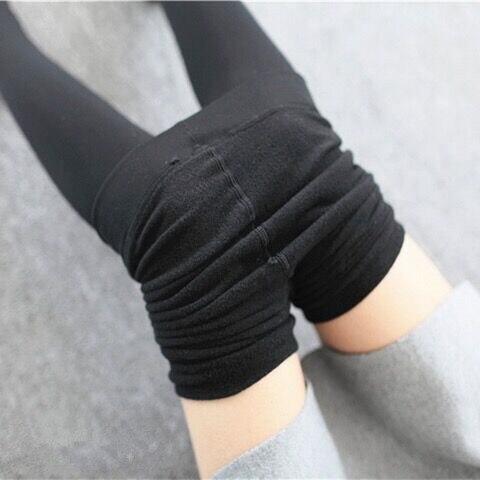 Высококачественные женские теплые бархатные леггинсы, штаны на весну, осень и зиму, вязаные обтягивающие леггинсы