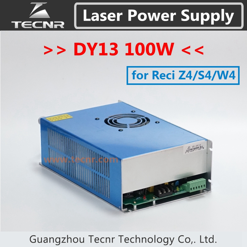 Co2 Laser DY13 Alimentation 100 W pour W4/Z4/S4 Reci Co2 Laser Tube Pilote Gravure De Coupe Machine