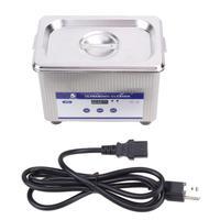 35W 42kHz 800ml Digital Ultrasonic Cleaning Transducer Baskets Jewelry Watches Dental PCB CD Mini Ultrasonic Cleaner Bath