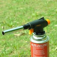 Butane Gas Blow Torch Flame Soldering Welding Gun Iron Automatic Ignition Lighter Burner Fire Starter Camping