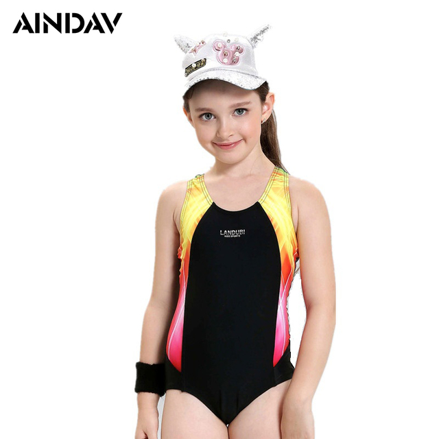 One piece teen bathing suit