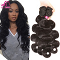 8A Wet And Wavy Weave Brazilian Body Wave Remy Hair Bundle Jet Black Virgin Hair Bundle Deals Guangzhou Ali Queen Hair Products