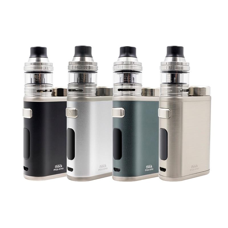 Cigarette électronique d'origine Eleaf iStick Pico Kit 21700 Kit 100 w boîte mod avec réservoir Ello 4000 mah 21700 batterie kit complet