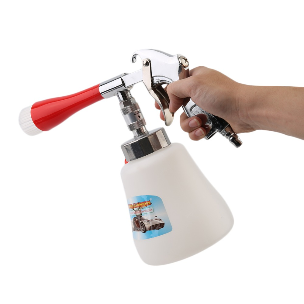 Professional Plastic Horn Cleaning Guns Tool High Pressure Car Auto Washer Foam Guns Cleaning Brush Household Cleaning Tools