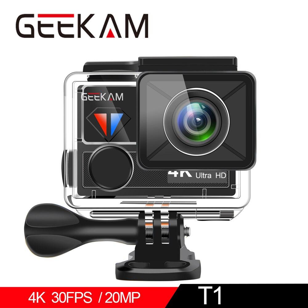 Sport & Action-videokamera Action Kamera T1 Touchscreen Ultra Hd 4 K/30fps 20mp Wifi Unterwasser Wasserdichte Fahrrad Helm Extreme Video Cam Sport Kamera Kataloge Werden Auf Anfrage Verschickt