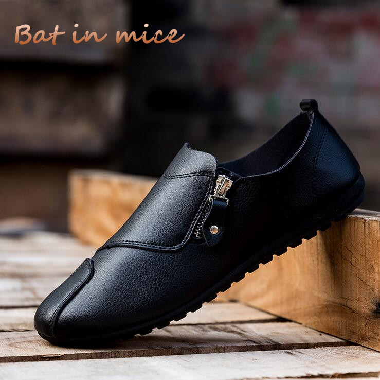 2018 Men oxford shoes Breathable Leather Men's Formal Flats men Shoes Summer Spring fashion Casual Shoes For Man Peas shoes C150 men shoes tide shoes casual fashion oxford business men shoes leather high quality soft casual breathable men s flats man shoes