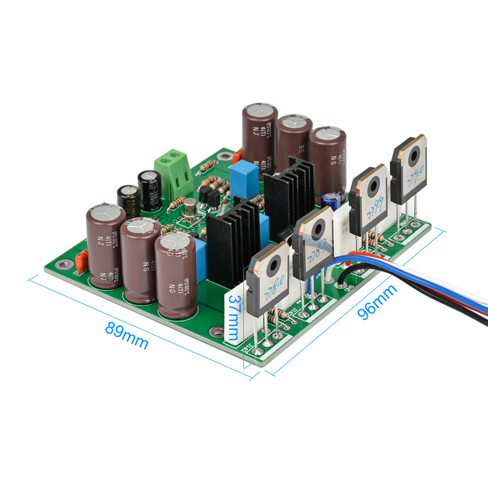 Circuit Of Power Amplifier 18w Audio And Explanation Electronic Circuits Aiyima Mono Board Amplificador 150w K1058 J162 Mosfet 400w Stereo