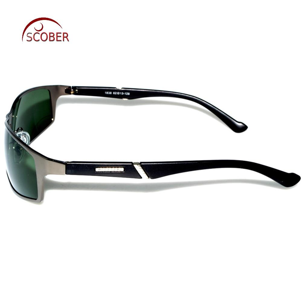 = SCOBER = TR90 Temple Designers Polarisierte Sonnenbrille Grau Braun - Bekleidungszubehör - Foto 3