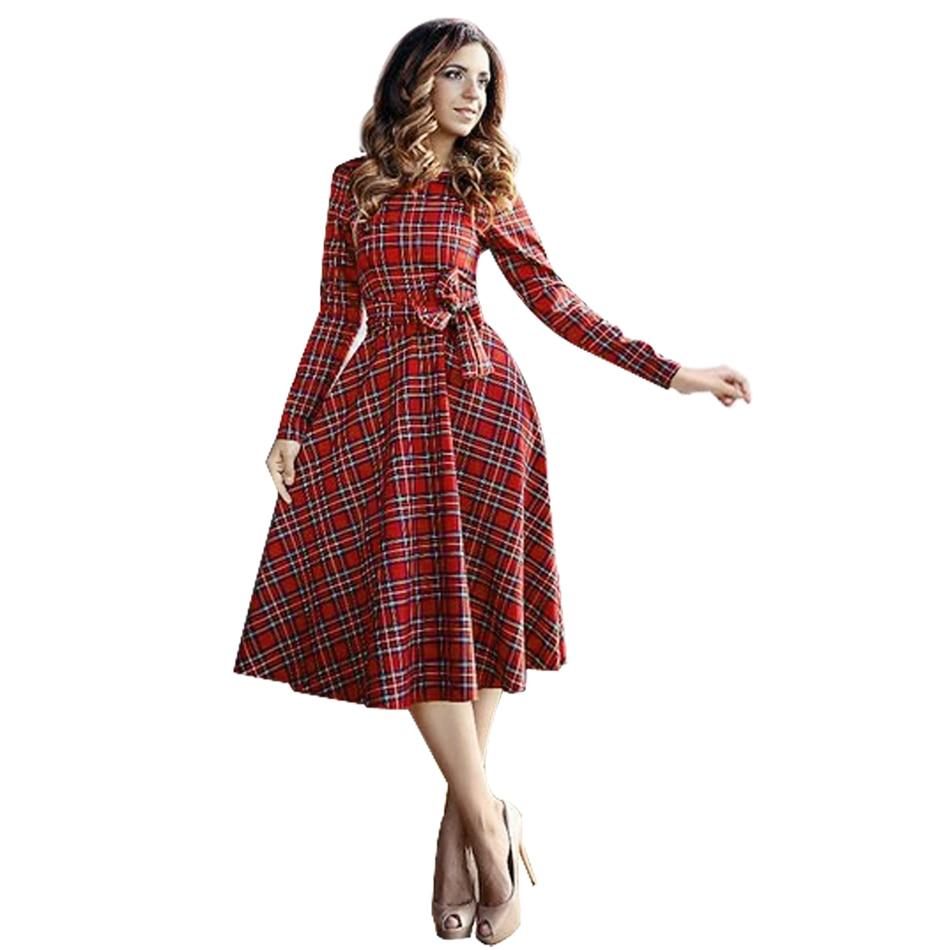 Autumn Women Dress 2017 Spring Party Dress Women Vestidos -2789