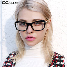 8c907baba56c Thick Frame Cat Eye Square Glasses Frames Women Optical Fashion Computer  Glasses 45627(China)