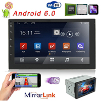 7 Inch Android 6 0 Double 2 Din Car Radio Stereo Player GPS Nav OBD 3G