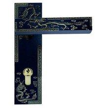 Wholesale- Dragon Pattern Zinc Alloy Lever Handle door lock Free Shipping