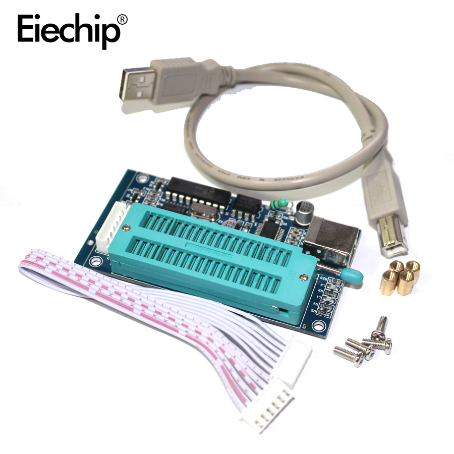 1 unids/lote PIC K150 ICSP programador programación automática del USB desarrollar microcontrolador cable + ICSP USB