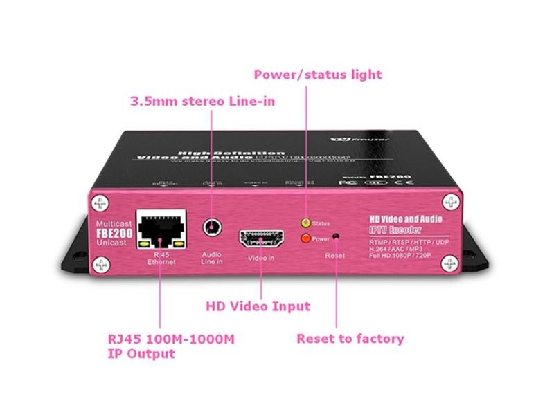 US $159 0 |FMUSER H 264 LAN IPTV Video Encoder RTMP HLS M3U8 1080P HD To IP  Encoder For Live Streaming Broadcast Facebook Youtube Wowza-in Radio & TV
