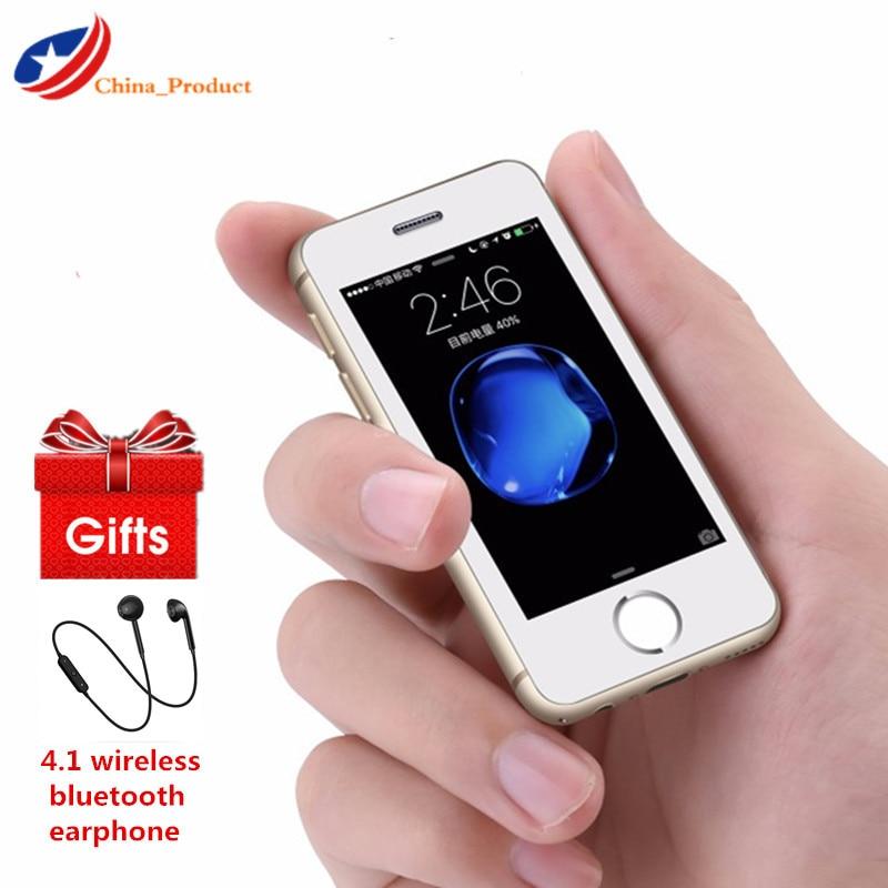 Cadeau! Smartphone Original Melrose S9 Plus 2.5 ''souper Mini 4G Android MT6580A/X Quad Core 16GB ROM téléphone portable étudiant 1050mAh