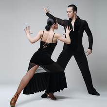 black flamenco dance costumes tango dress spanish dance dress ballroom waltz dresses women latin dress dancing clothes