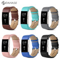 DAHASE Replacement Band for For Fitbit Charge 2 Heart Rate Wristband Bracelet Belt Genuine Leather Strap For Fitbit Charge 2