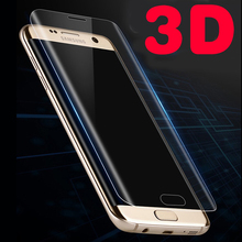 GXE 3D Curved Full Screen Coverage Tempered Glass For Samsung Galaxy S8 Plus A3 A5 A7 2017 S6 S7 Edge Screen Protector Film