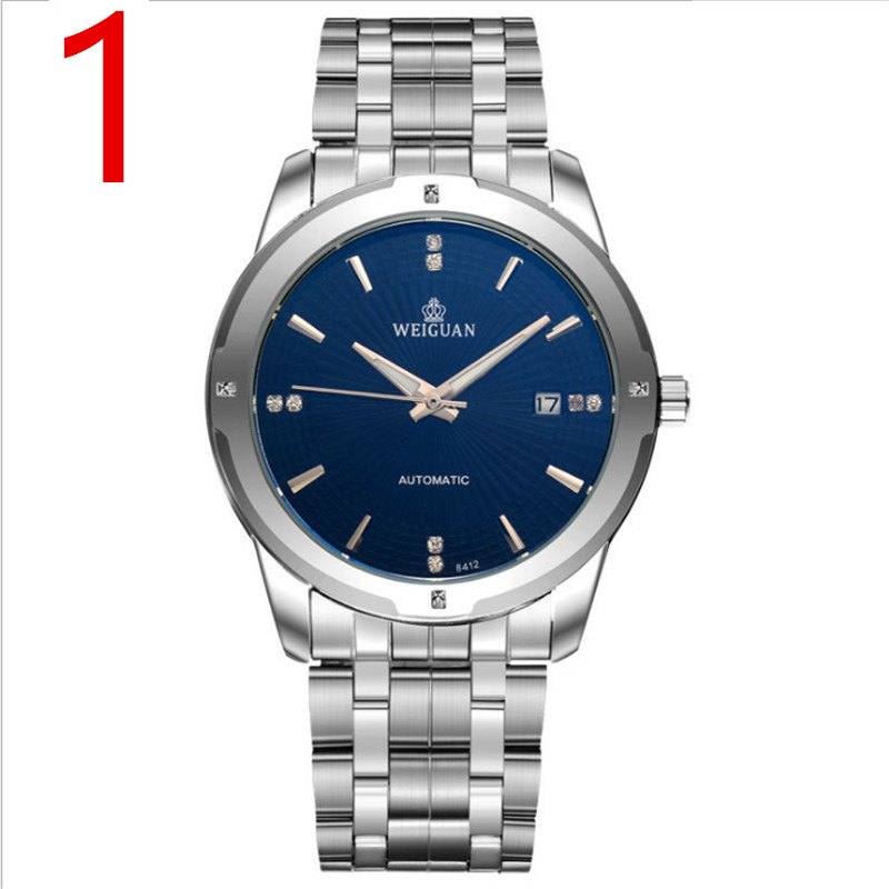 Mens Watches Top Brand Luxury Sport Quartz Watch Men Business Stainless Steel Silicone Waterproof Wristwatch 5 mens watches top brand luxury sport quartz watch men business stainless steel silicone waterproof wristwatch