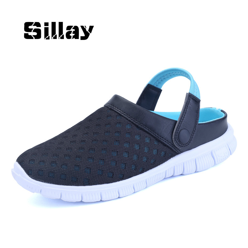 Men's Shoes Summer New Casual Network Shoes Breathable Slip on Shoes Outdoor Beach Flip Flops Tenis Feminino Zapatillas Krasovki hot 2017 new fashion womens weave shoes spring summer mixed color breathable casual shoes flats slip on loafers tenis feminino