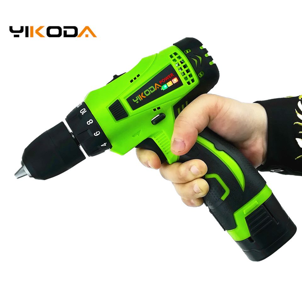16 8V Electric Screwdriver Lithium Battery Rechargeable Cordless Screwdriver Two speed Mini DIY Electric Drill Power