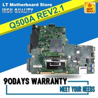 For Asus Q500A laptop motherboard Q500A mainboard REV2.1 s989 60-NTGMB1000-B01 Mainboard Test OK S-4