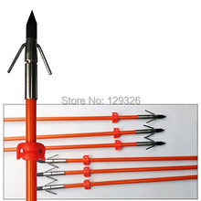 Бесплатная доставка, GPP 32 дюйма, оранжевые охотничьи стрелы для ловли Bowfishing с широкой головкой, 3 шт./PK