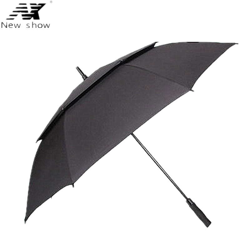 NX Golf umbrella Large true double layer 135CM long umbrellas creative male and women business umbrella super stong windproof