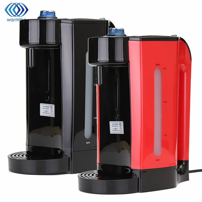 3L Instant Heating Electric Hot Water Dispenser Boiler Electric Kettle Desktop Coffee Tea Maker Boiling Kettle Home 2200W high quality electric kettle double wall insulation quick heating digital electric thermos water boiler home appliances for tea