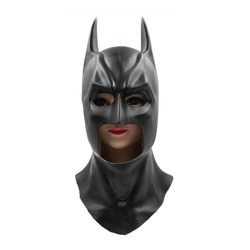 Batman Dark Knight Mask With Adult Cosplay The Dark Knight Rises Halloween Prop