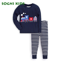 Baby Boys Girls Pajamas Set Children Clothing Sleepwear For 2018 Brand Cartoon Clothes Toddler Long Sleeve