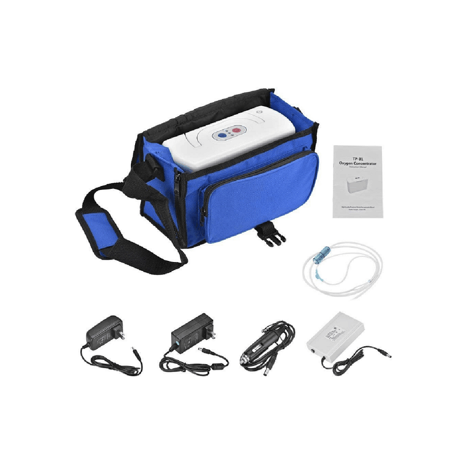 DC110 240V Adjustable Home use Oxygen Concentrator Generator Machine Old People Outdoor Plateau Portable Ozone Generator