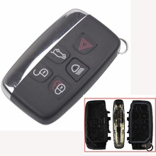jingyuqin Remote Car Key Case Shell Cover For Land Rover Evoque Discovery 4 Rover Evoque For XE XFL et Jaguar Freelander