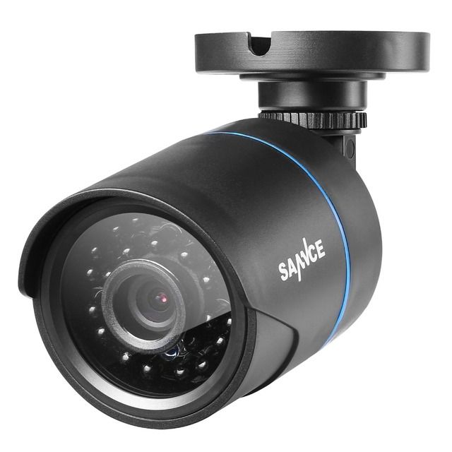 SANNCE HD 8CH CCTV System 1080P HDMI DVR AHD 720P CCTV Security Camera 4PCS 1280TVL IR Outdoor camera Video Surveillance kit