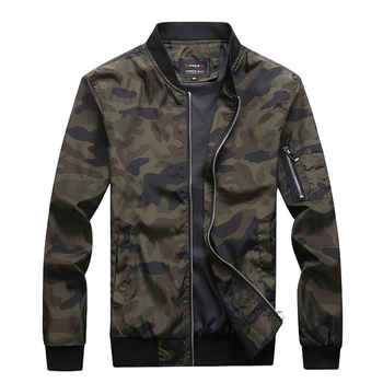 M-7XL 2019 New Autumn Men's Camouflage Jackets Male Coats Camo Bomber Jacket Mens Brand Clothing Outwear Plus Size M-7XL - DISCOUNT ITEM  55% OFF All Category