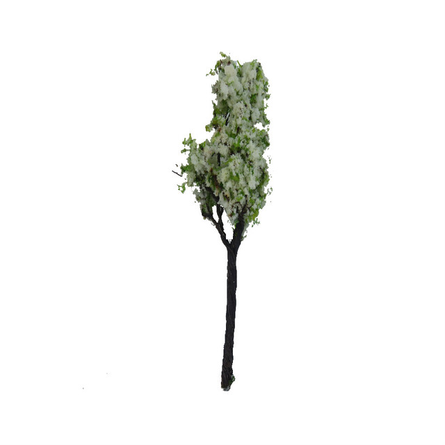 2018 NEW 9CM wire green and white Model Trees For Railroad House Park Street Layout Green landscape Scene Scenery