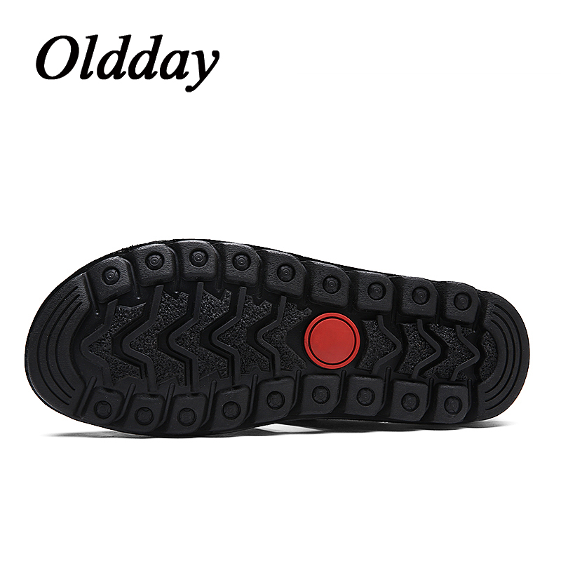 Men Sandals Brand Summer Comfortable Man Split Leather Casual Sneakers Slip on Outdoor Male Fashion Flat Beach Shoes Plus Size