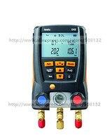 TESTO 549 Digital Manifold Gauge 2 Valves System For HVAC 0560 0550