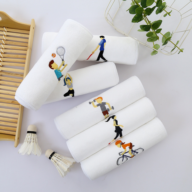 Towel To Wipe Sweat: Sports Towel Wipe Sweat Quick Dry Hot Yoga 110*25cm