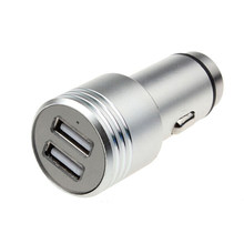 High speed fast car charger with cable qc 3.0 dual usb car charger universal for mobile apple Iphone/Iphone(China)
