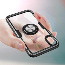 Tempered Glass Cases for iphone XS Max Case Magnetic Finger Ring Car Holder Cover XR X 8 7 6 6S Plus phone Shell